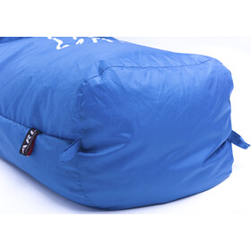 Grüezi-Bag Cloud Sac de couchage momie, blue/Stonebuck